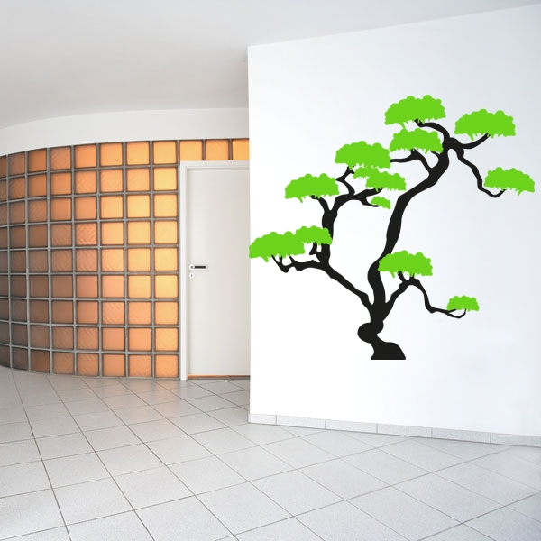 wandmotiv24 wandtattoo asiatischer baum nr 514 wandtattoo fototapeten g nstig kaufen. Black Bedroom Furniture Sets. Home Design Ideas