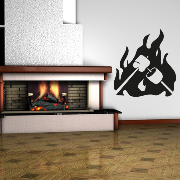 wandmotiv24 wandaufkleber feuer nr 242 wandtattoos fototapeten g nstig kaufen. Black Bedroom Furniture Sets. Home Design Ideas