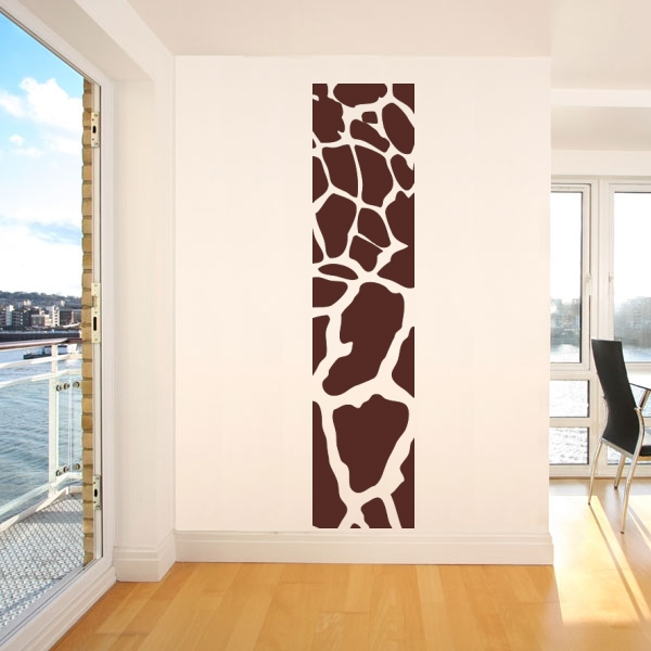 wandmotiv24 wandaufkleber giraffenmuster wandtattoos fototapeten g nstig kaufen. Black Bedroom Furniture Sets. Home Design Ideas