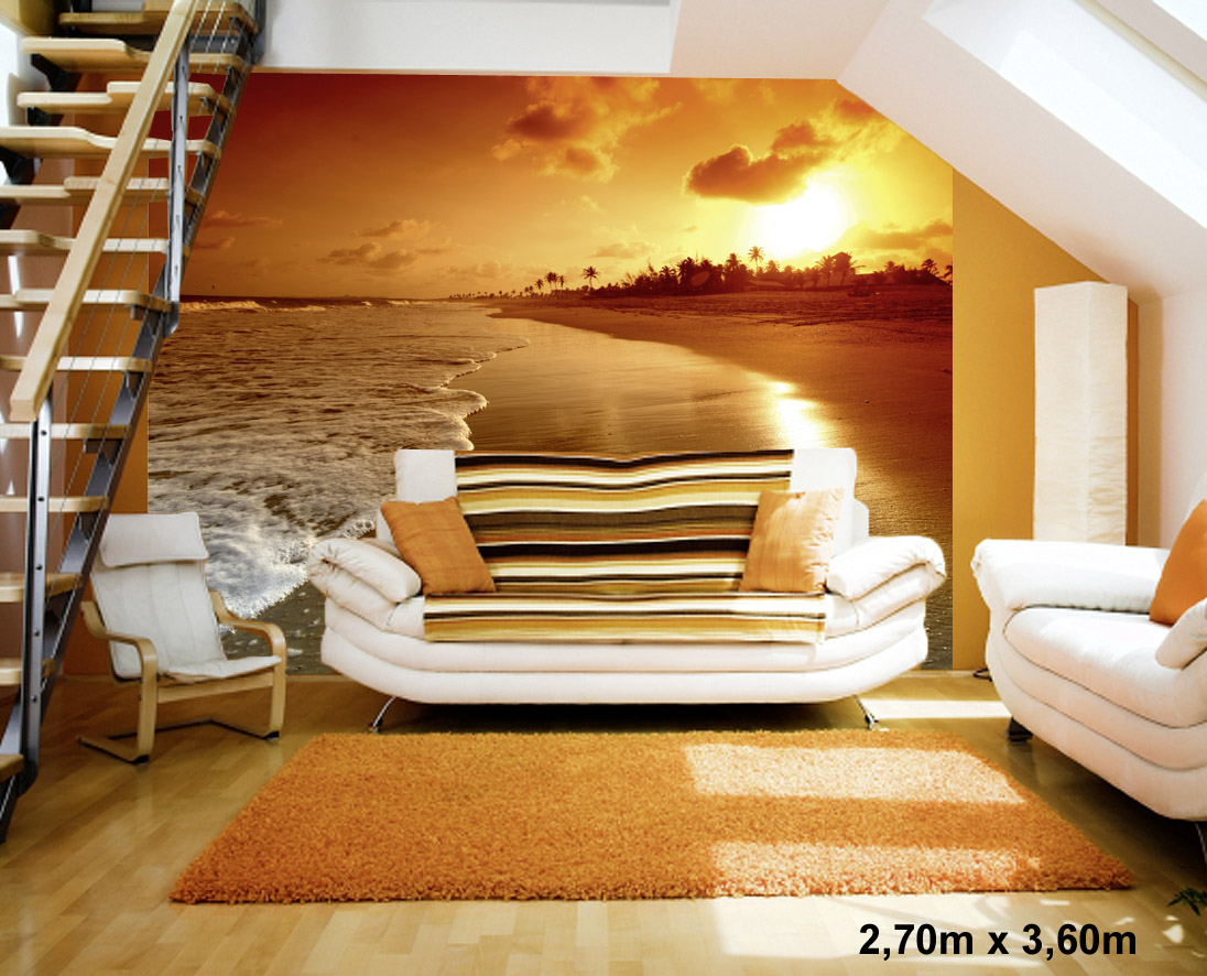 fototapete schlafzimmer sonnenuntergang. Black Bedroom Furniture Sets. Home Design Ideas