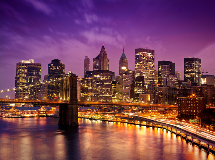 pics photos new york fototapete new york skyline. Black Bedroom Furniture Sets. Home Design Ideas